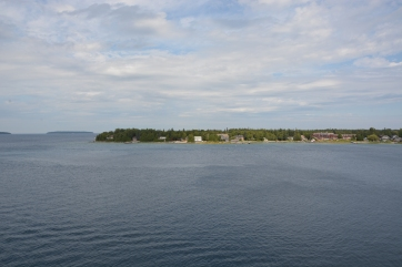Leaving Tobermory