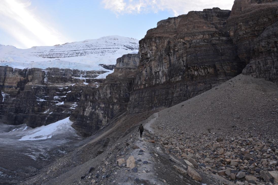 Victoria Glacier, AB