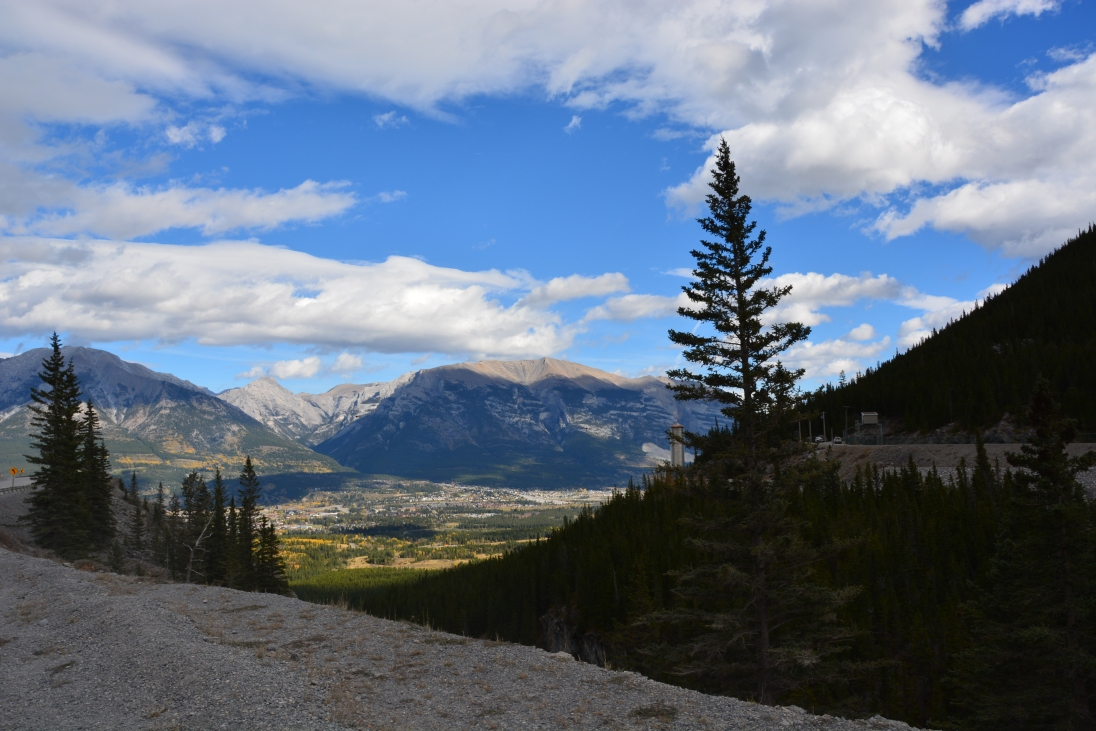 Looking into Canmore