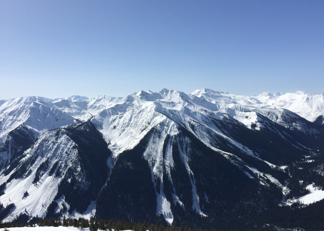 Kicking Horse Mountain, BC