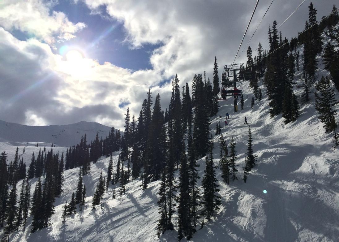 Kicking Horse Mountain, BC