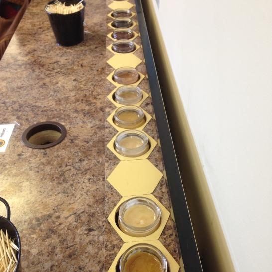 Planet Bee Honey Samples